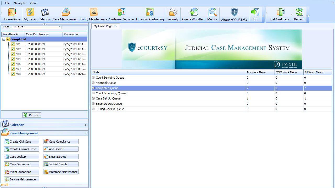 Dexik case management